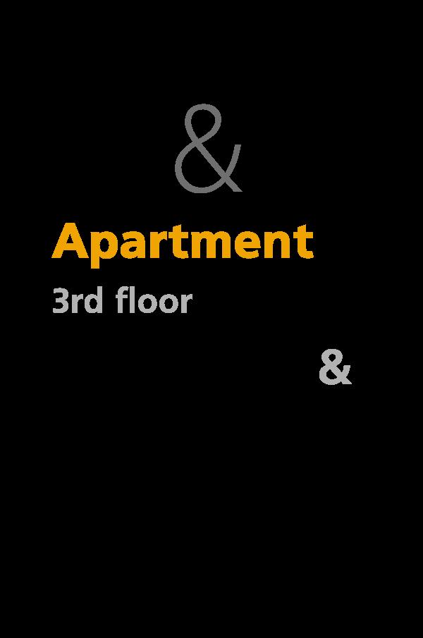 C1 & C2 - 3rd floor apartments
