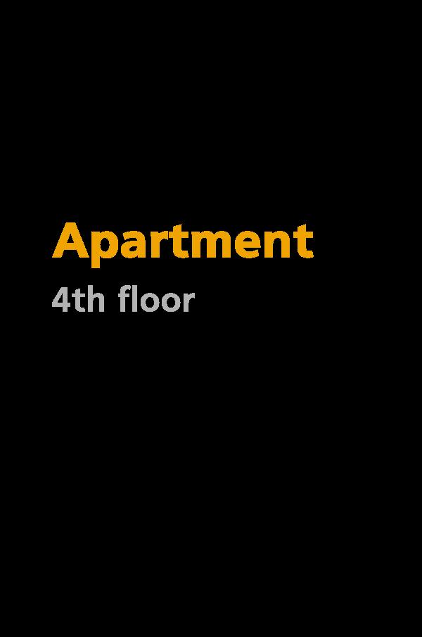 D2 - 4th floor apartment - 150.43 square meters