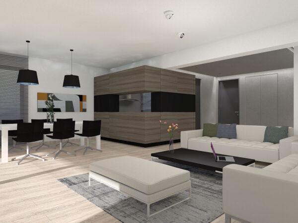 Καθιστικο - Φωτορεαλιστικη απεικονιση / Living room - photorealistic rendering