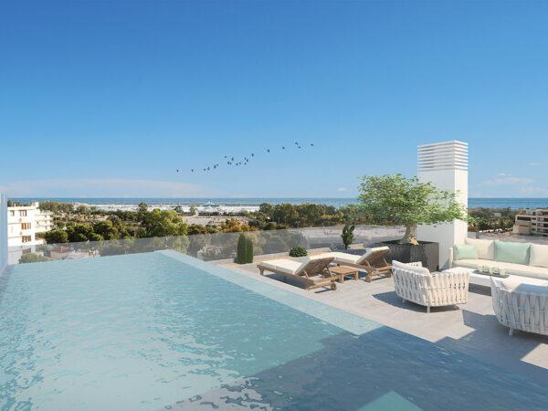 Δωμα - Φωτορεαλιστικη απεικονιση / Roof garden - photorealistic rendering