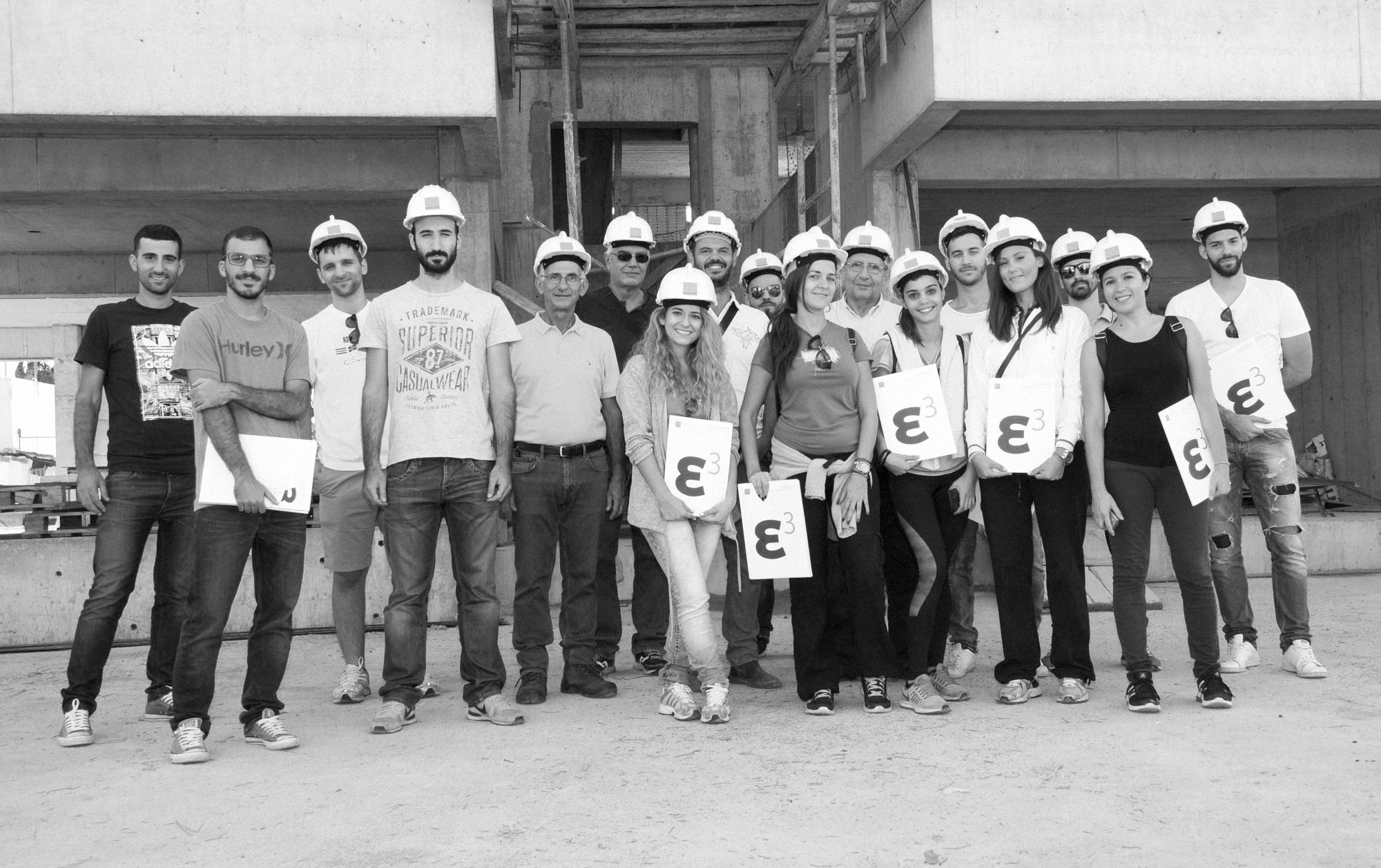Επίσκεψη φοιτητών στο Ellinicon 3 - Student visit at Ellinicon 3