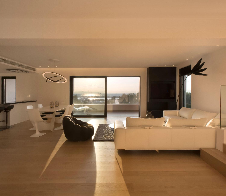Διαμέρισμα Δ2 ( καθιστικό και τραπεζαρία) - Apartment D2 (living & dining room)