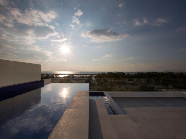 Διαμέρισμα Δ2 (η πισίνα στο δώμα) - Apartment D2 (roof pool)