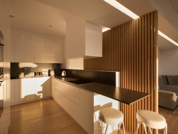 Διαμέρισμα Γ2 (κουζίνα) Interior design: Katerina Ralli - Apartment C2 (kitchen)