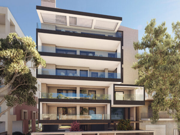 Αργυρουπολη - Πενταοροφο συγκροτημα κατοικιων - Argyroupolis - Five-floor apartment building
