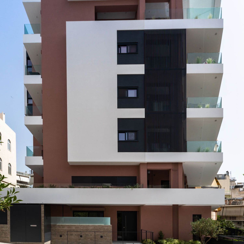 Alimos 4 apartment building by Axiacon